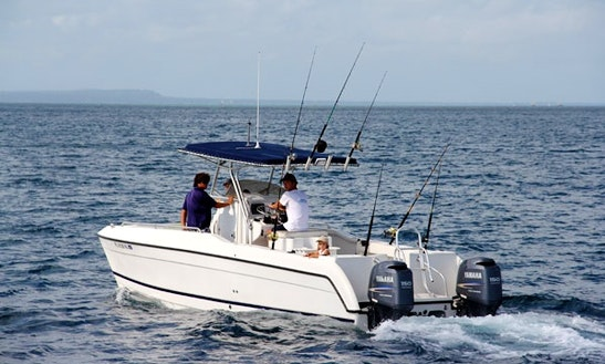 27' Center Console Fishing Boat In Nungwi