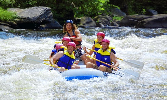 White Water Rafting Trips In Pigeon River