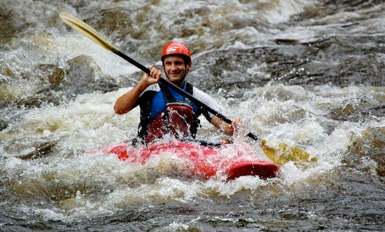 Kayaking Rafting Lessons In Pigeon River