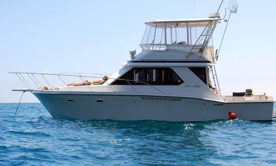 Fishing Trips From Huatulco Bay On A Chris Craft Commander