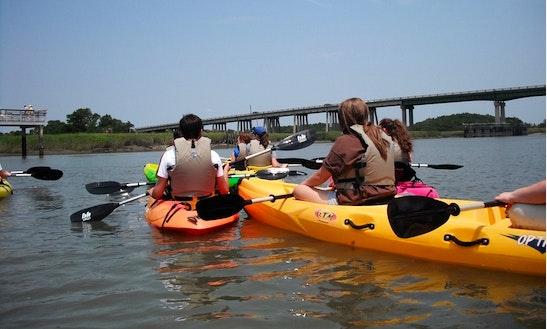 Tandem Kayak Rental In Tybee Island