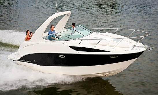 Charter Bayline 285 Motor Yacht In Oakville