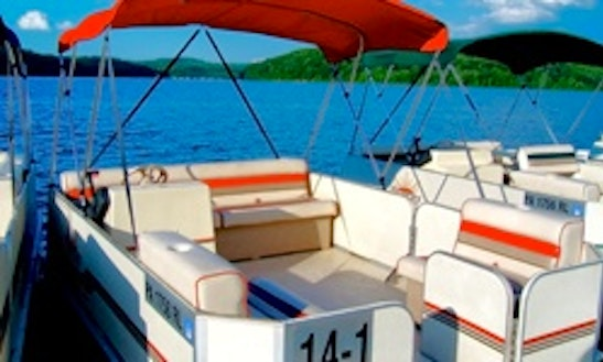 14' Pontoon Rental In Muddy Creek, Pennsylvania