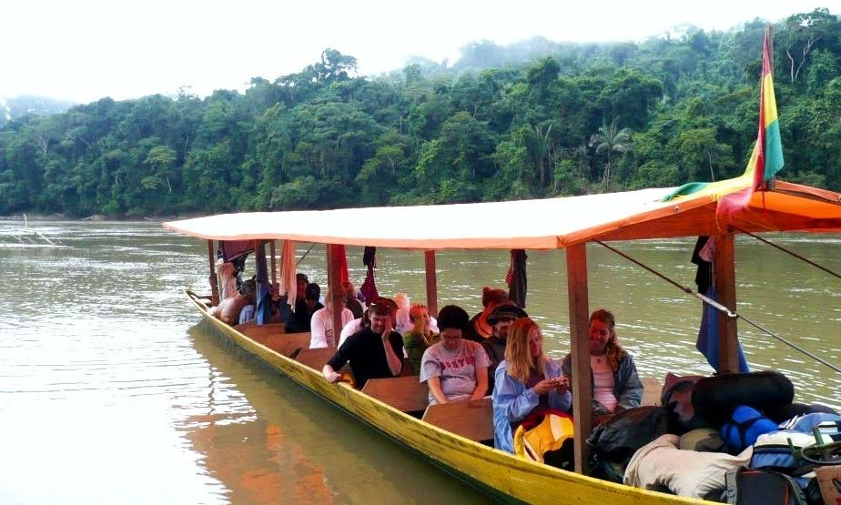 Jungle Boat Tour In Bolivia