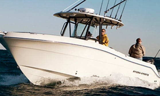 30' Center Console Rental in Rye, New Hampshire