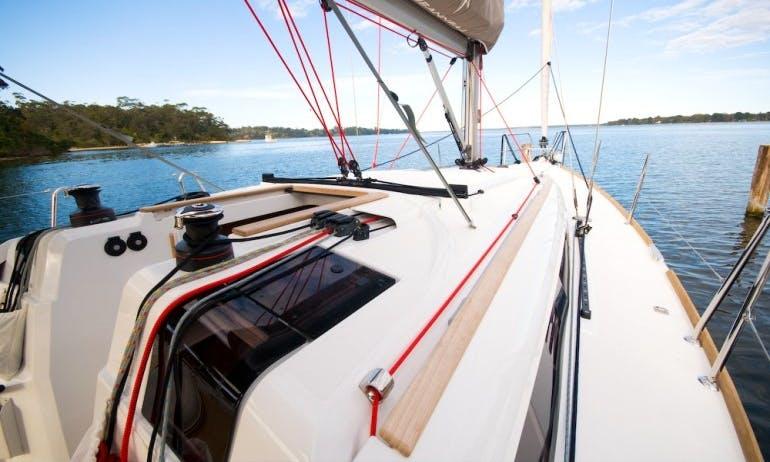 Enjoy 37 ft Cruising Monohull Jeanneau Sun Odyssey 379 Charter in Metung, Victoria
