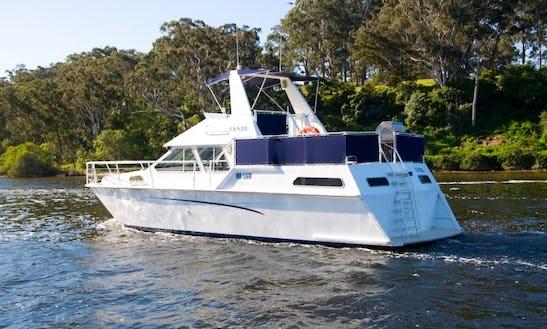 Enjoy Motor Yacht Tanjil 41 Charter In Metung, Victoria