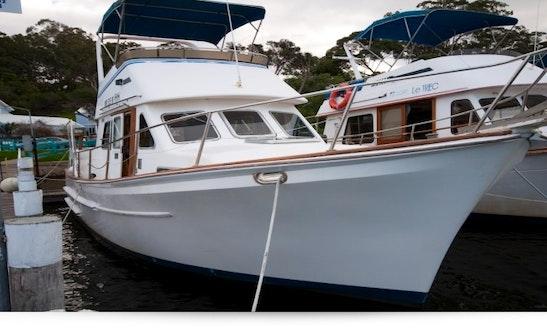 Enjoy Motor Yacht Seamaster 36 Charter In Metung, Victoria