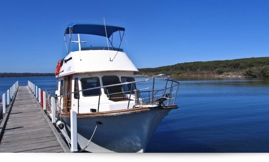 Enjoy Head Boat Clipper 34 Charter In Metung, Victoria