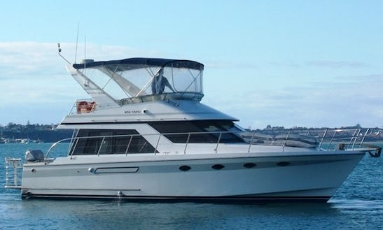Fishing Boat Charter On 47' Oceans Alexander Yacht In Auckland