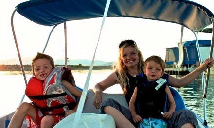 Pedal Boat Rental in Vineyard, Utah