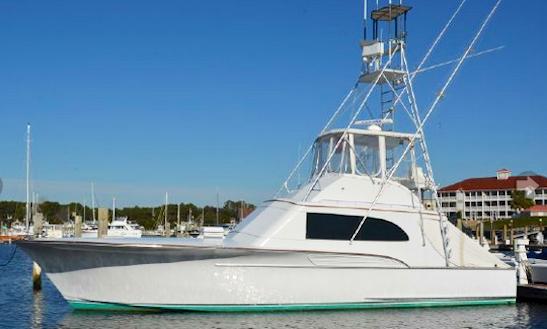 58ft sport fisherman charter in virginia beach virginia for Head boat fishing virginia beach