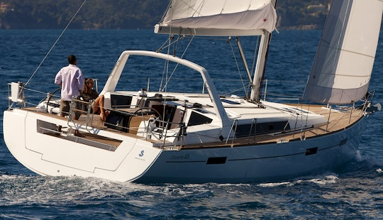 Charter Oceanis 45 Sailing Yacht In Greece