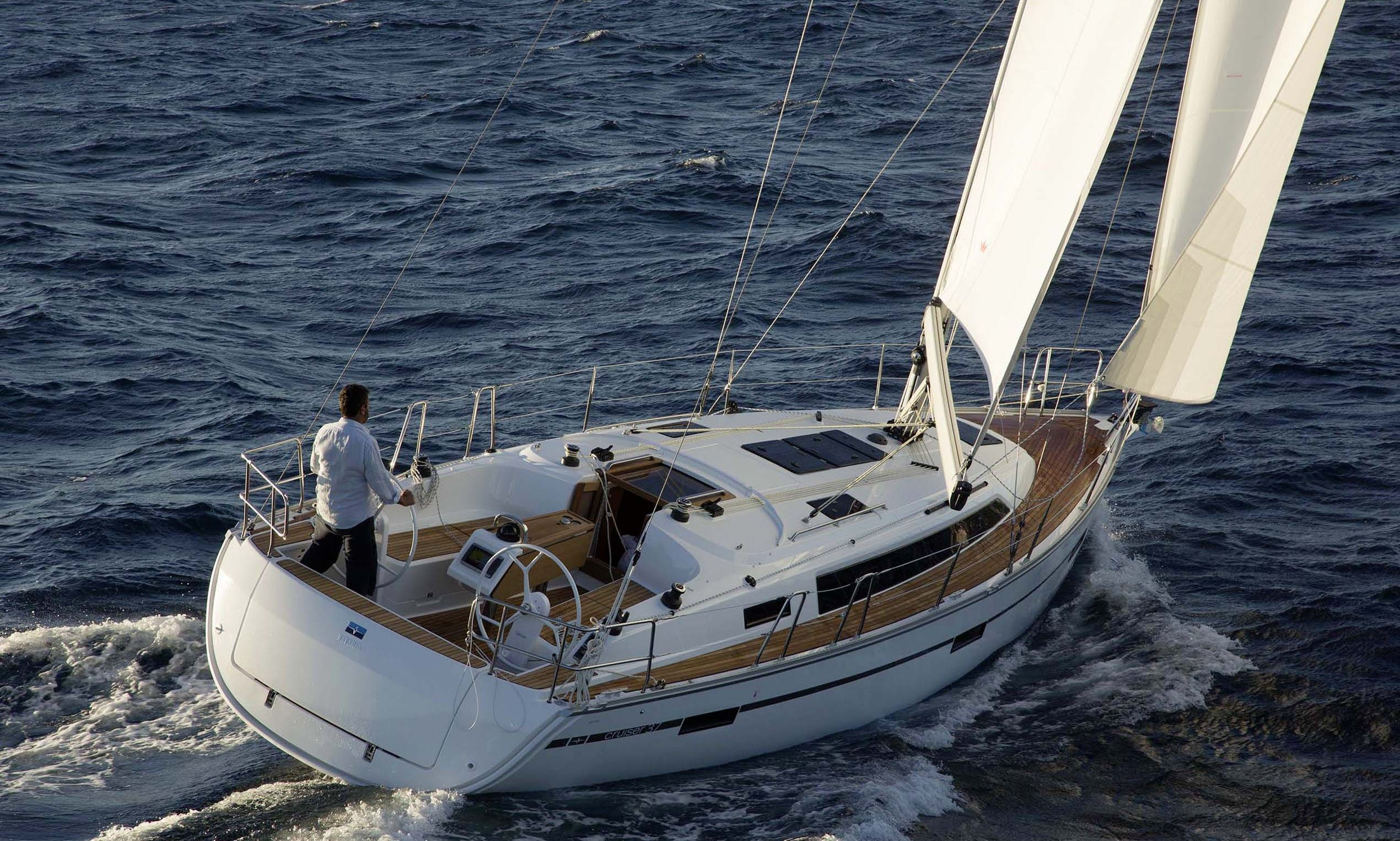 Charter Bavaria Cruiser 37 Sailboat In Greece