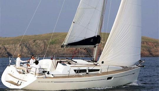 Charter 36' Sun Odyssey Yacht In Greece
