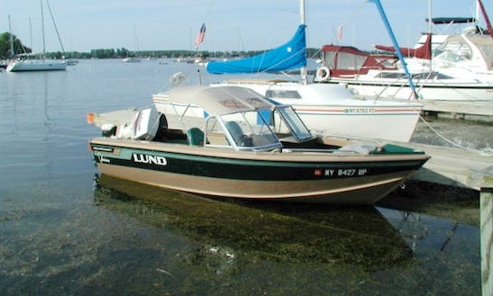 Fishing Guide Trips On A 17' Lund Boat In Duluth