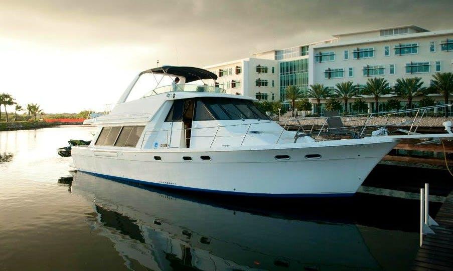 Bayliner Pilot Yacht Charter in Cayman Islands