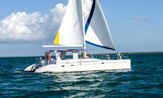 Voyage Sailing Catamaran Charter In Cayman Islands