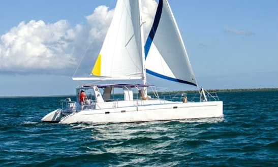 Voyage Sailing Catamaran Charter In Cayman Islands