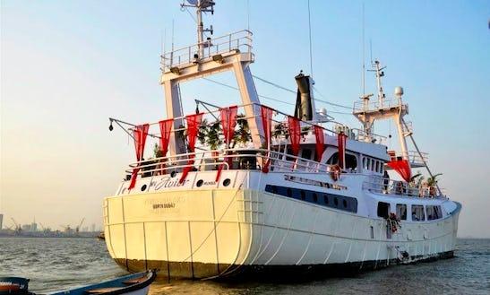 Mv Avior Power Mega Yacht  In Mumbai