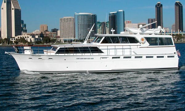 Charter 63' Classic Inspiration Yacht In San Diego, California