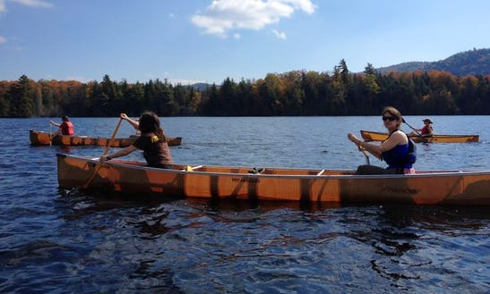 Canoe Rental And Self Guide Trips In North Elba