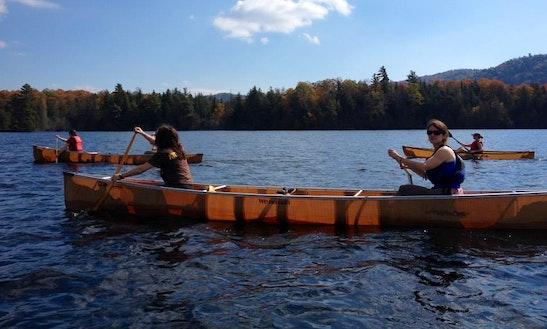 Canoe Rental & Self Guide Trips In North Elba