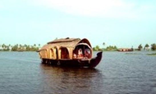 Houseboat With Two Bedrooms For Rent In Aryad South, India