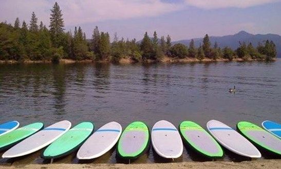 Stand Up Paddleboarding In Whiskeytown