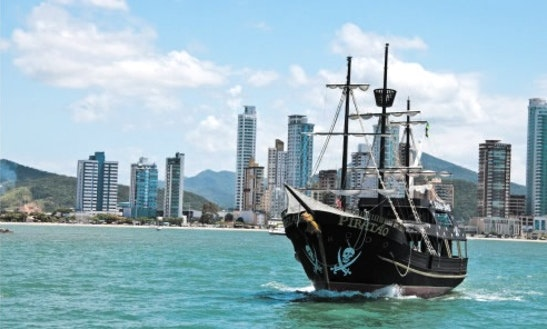 Pirate Boat Trips In Brazil