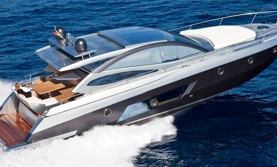 Luxury Yacht In Tropea
