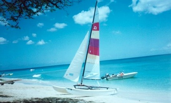 Beach Catamaran Boat Rental In Folkestone, Barbados