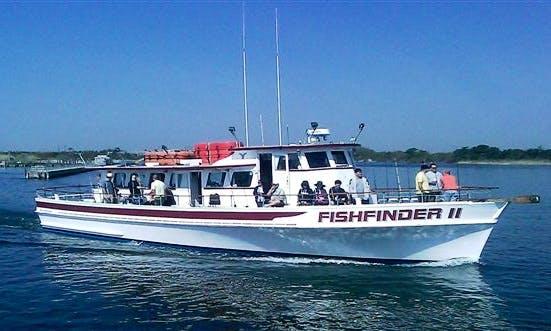 "Enjoy Fishing On 65ft ""Fishfinder II"" Trawler With Captain Walter"