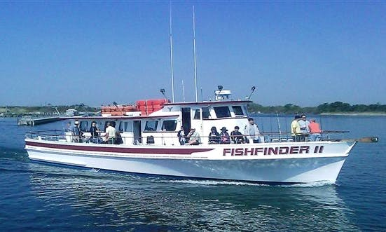 "Enjoy Fishing On 65ft ""Fishfinder II"" Trawler With Captain Walter"
