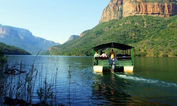 River Boat Trips in the Blyde Canyon, South Africa