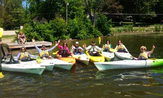 Single Kayak Rental In Fontana Lake
