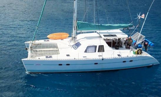 'aubisque' Lagoon 47 Catamaran Charter In Belize