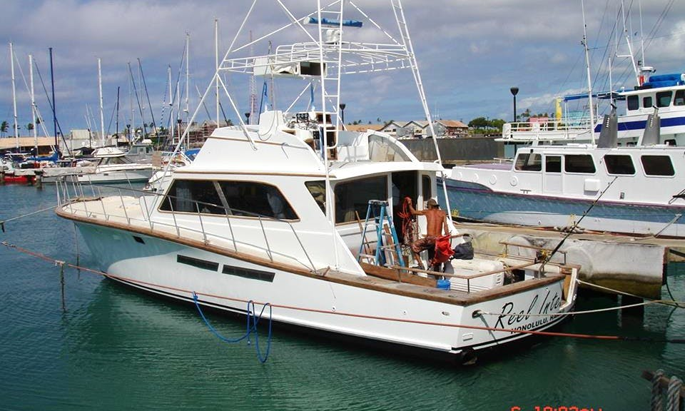 "48ft ""Egg Harbor"" Fishing Charter in Honolulu, Hawaii"