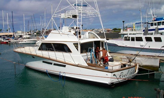 42 39 sport fisherman fishing charters in honolulu hawaii for Honolulu fishing charters
