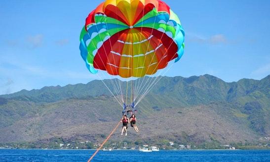 Parasailing In Honolulu