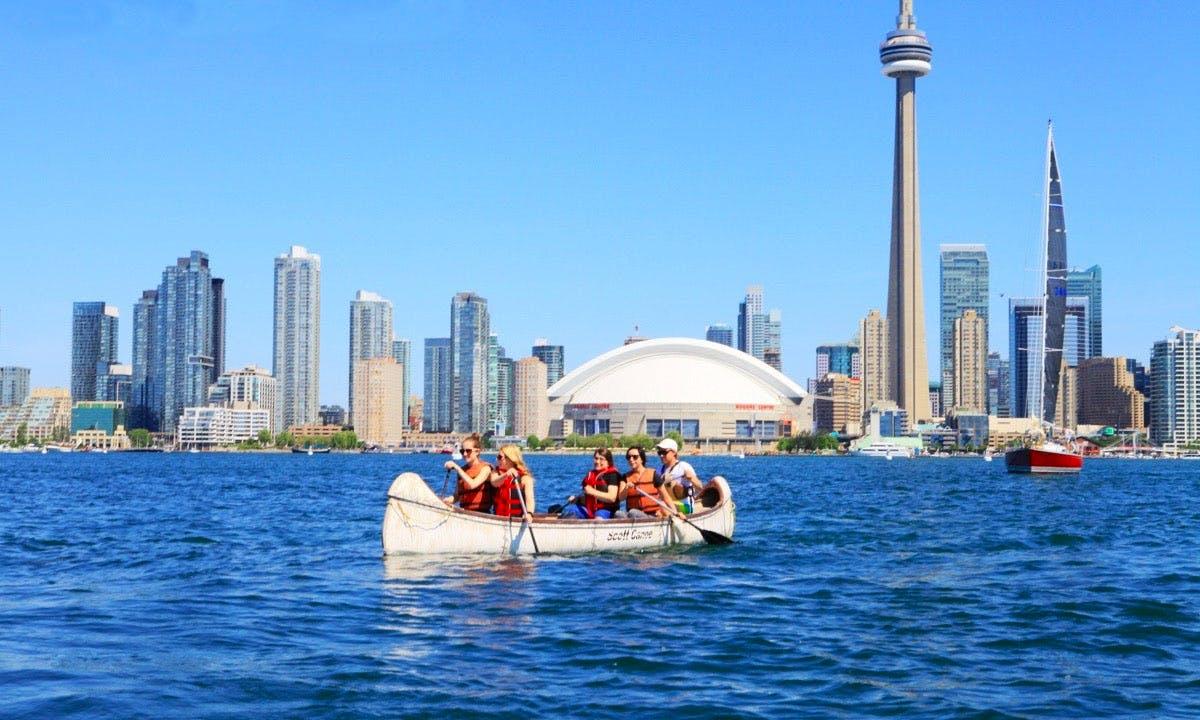 Canoe Taxi In Toronto