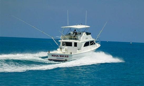 43' Sport Fisherman Charter In St. George's, Bermuda