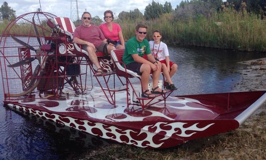 Airboat Tours From Fort Lauderdale, Florida