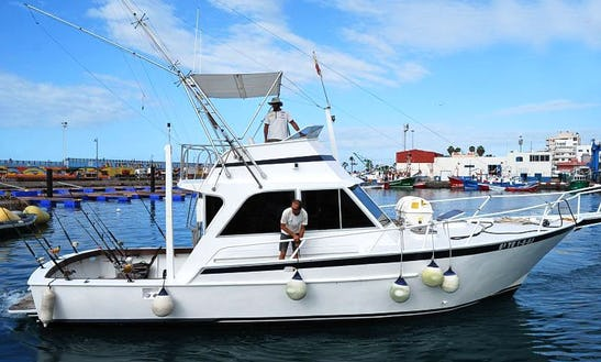 44' Sport Fishing Yacht Charter In Spain