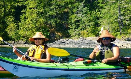 Tandem Kayak Rental In West Vancouver, Canada