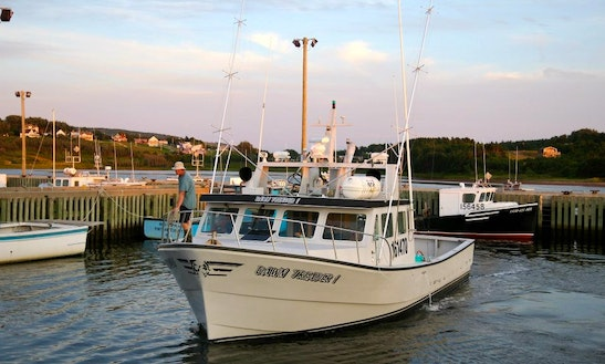 45' Head Boat Fishing Charter In Inverness Subd. A, Canada