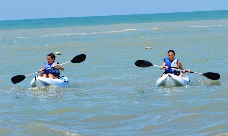 Kayak Guided Tours in Playa Blanca Beach, Panama