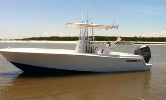 Charter On 25ft Contender Center Console Fishing Boat In East Hampton, New York