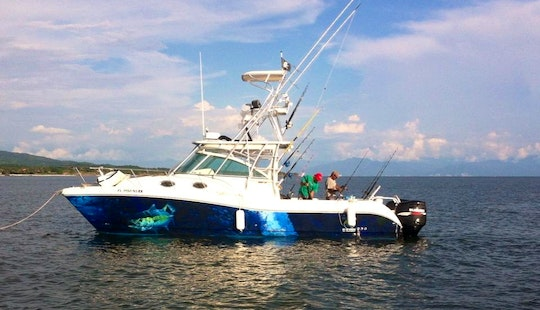 32' Sport Fisherman Charter In Nayarit, Mexico