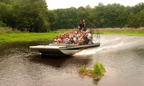Airboat Group & Private Rides In Inverness, Florida